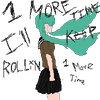 Rolling girl