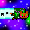 Me as a Nyan Cat