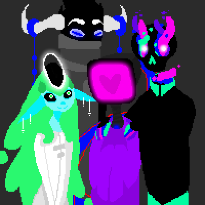 pixel art Family Piqture SHEEP Sheep NICK <3  Nick SH33P Family Piq UN1Q3. Lagoon E-Bot N1CK Unique L4G00N by UN1Q3 piq