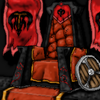 The throne of king Grogramn
