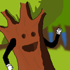Happy tree in the forest:D