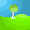 The lonely Birch Tree