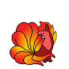 Red as a Ninetails? Idk.