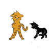 Ravenpaw cowering away from Tigerstar-Warriors-