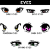 I luv eyes... because i cannot draw..