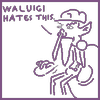 Waluigi Shares His Opinion on This Piq