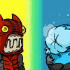 Fire Demon and Iceskimo :PPP