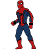 street fighter spiderman
