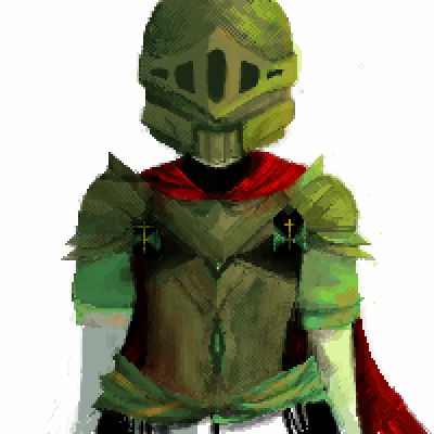 pixel art Knighty Knight by Slob piq