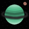 Planet #407-088 and his moon