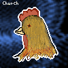 For contest 'Original Characters': Church the chicken.