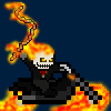 Ghost Rider w/ Hellbike! (Marvel Comics)