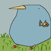 the blue-berd of happiness